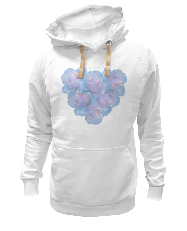 Толстовка Wearcraft Premium унисекс Printio Нежные цветы блокнот кофемана нежные цветы