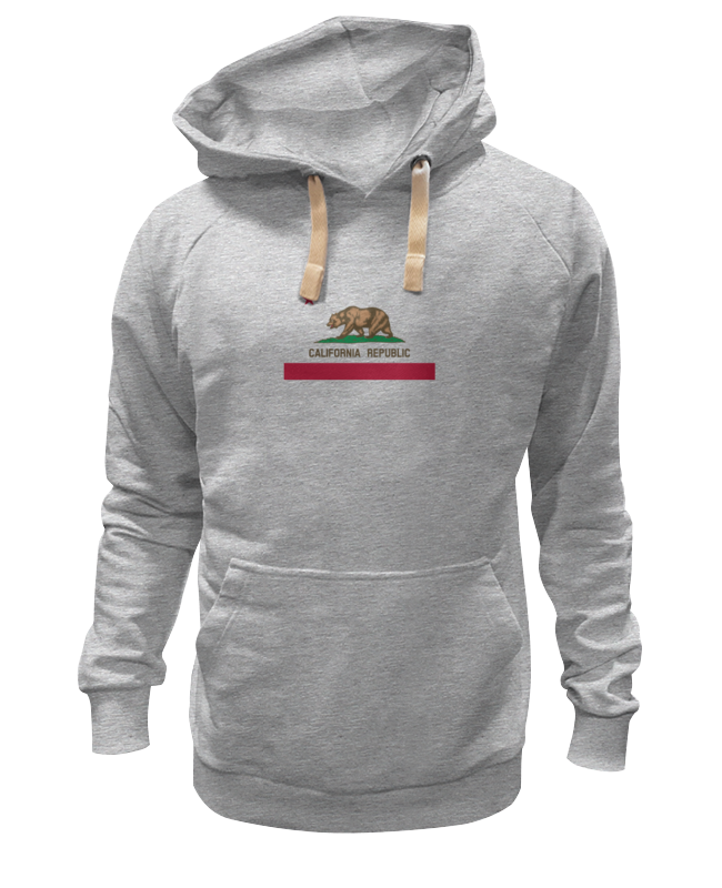 Толстовка Wearcraft Premium унисекс Printio Калифорния флаг