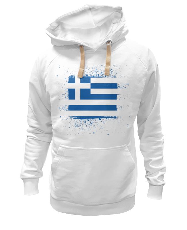 цена Printio Греческий флаг (гранж) онлайн в 2017 году