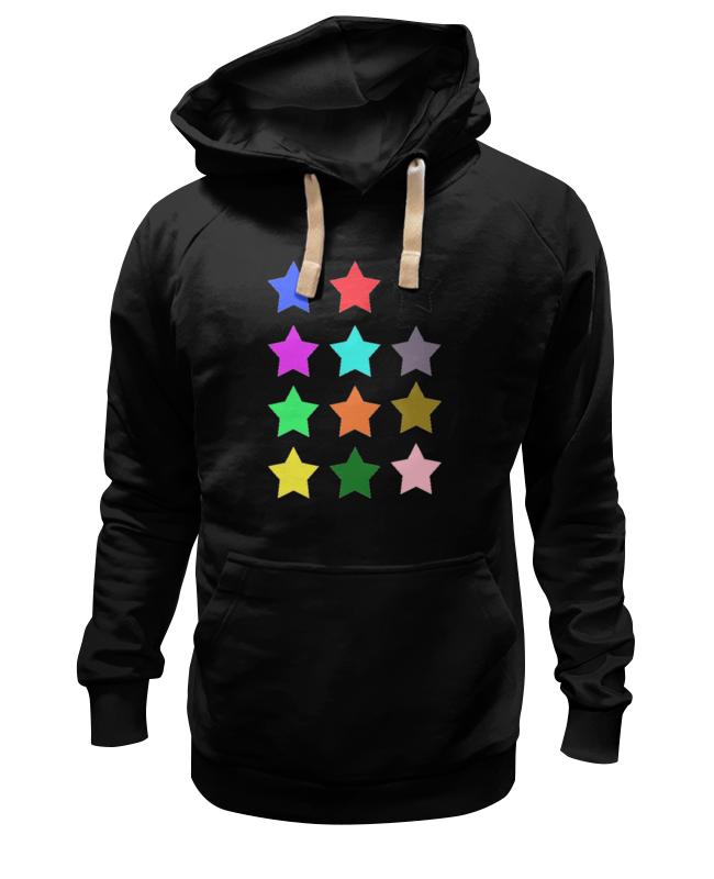Толстовка Wearcraft Premium унисекс Printio stars on the black пробковый пол corkstyle adventures stars black