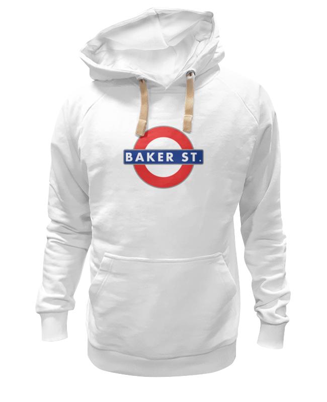 Толстовка Wearcraft Premium унисекс Printio Бейкер-стрит (шерлок) майка print bar 221b baker street