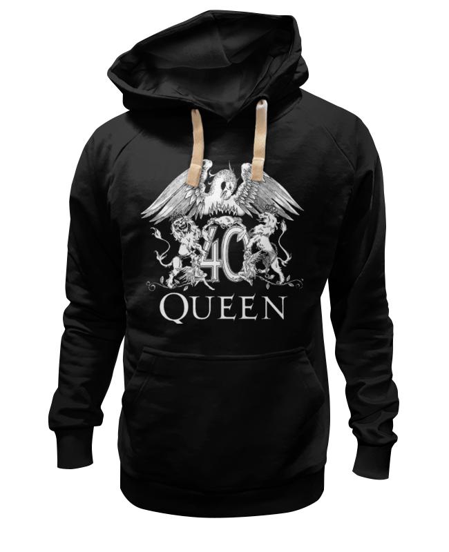 Толстовка Wearcraft Premium унисекс Printio Queen ботинки queen vivi queen vivi qu004awxmf40