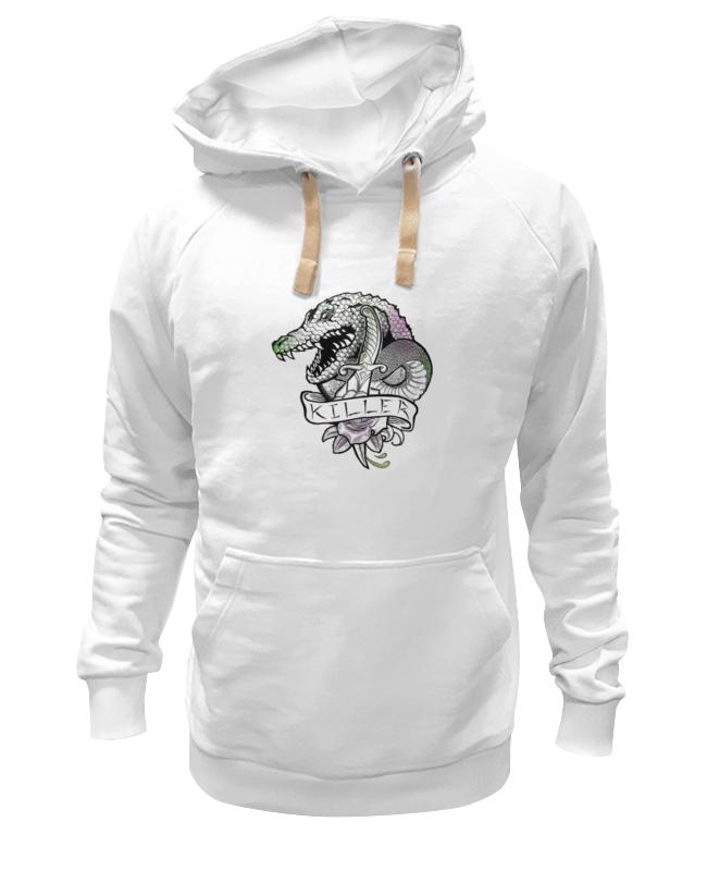 Толстовка Wearcraft Premium унисекс Printio Убийца крок dc comics фигурка металлическая killer croc alt 10 см