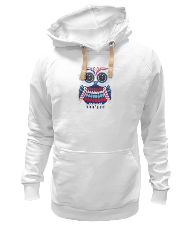 Толстовка Wearcraft Premium унисекс Printio Сова (owl) толстовка wearcraft premium унисекс printio сова на черном