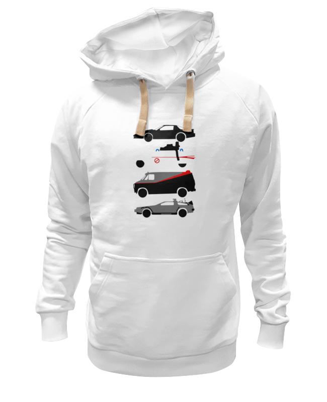 все цены на Толстовка Wearcraft Premium унисекс Printio Машины из 80-х онлайн