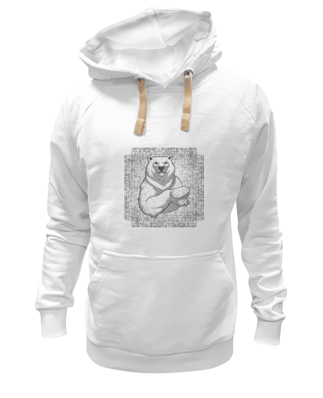 Толстовка Wearcraft Premium унисекс Printio Polar bear стилус polar pp001