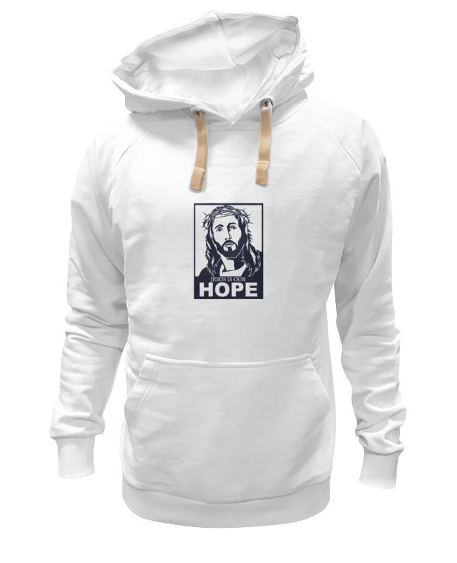 Толстовка Wearcraft Premium унисекс Printio Иисус - наша надежда надежда дмитриевна гуськова основы