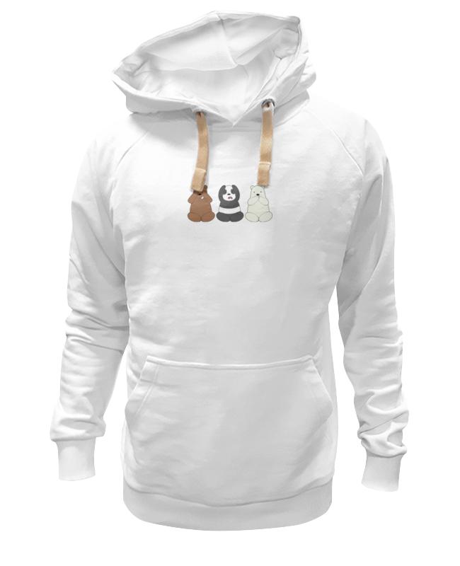 Толстовка Wearcraft Premium унисекс Printio Медведи и панда лонгслив printio медведи и панда