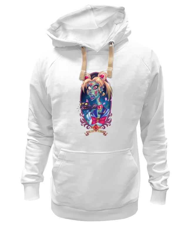Толстовка Wearcraft Premium унисекс Printio Девушка с кошкой(монстры)