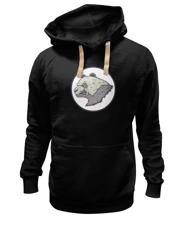 Толстовка Wearcraft Premium унисекс Printio Angry panda / злая панда