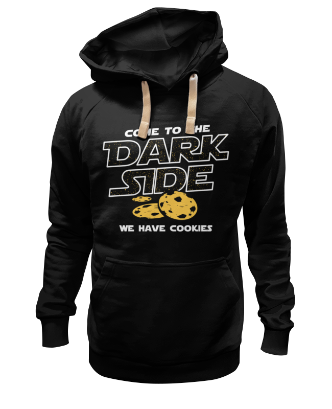 Толстовка Wearcraft Premium унисекс Printio Come to dark side! we have cookies