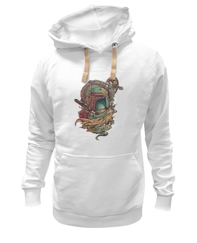 Толстовка Wearcraft Premium унисекс Printio Боба фетт - охотник за головами фляга кожаная экспедиция лучший охотник цвет коричневый