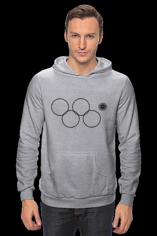 от шамони до сочи 100 лет зимних олимпийских игр Толстовка Wearcraft Premium унисекс Printio Олимпийские кольца в сочи 2014