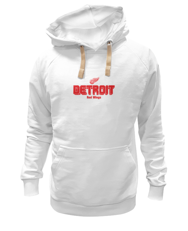 Толстовка Wearcraft Premium унисекс Printio Detroit red wings