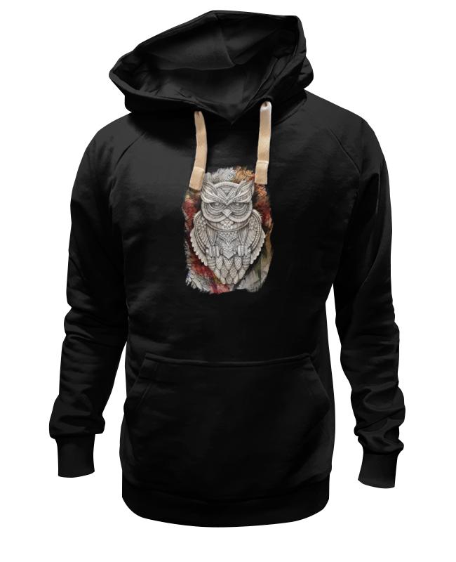 Толстовка Wearcraft Premium унисекс Printio Doodle owl футболка wearcraft premium printio ольга бузова