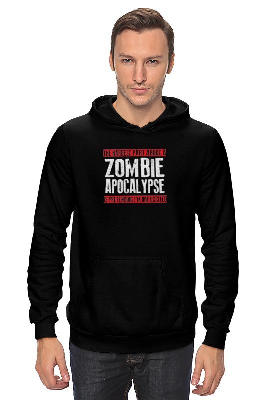 Толстовка Wearcraft Premium унисекс Printio Zombie apocalypse dead inside do not enter notes from the zombie apocalypse
