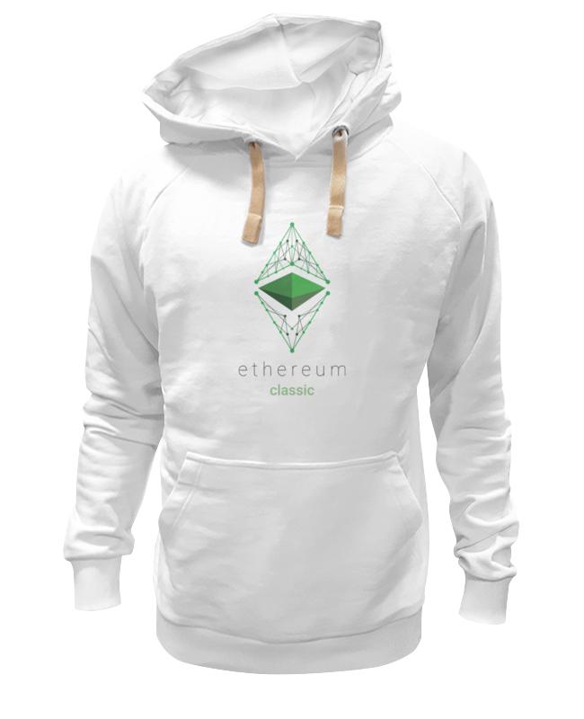 Толстовка Wearcraft Premium унисекс Printio Ethereum classic