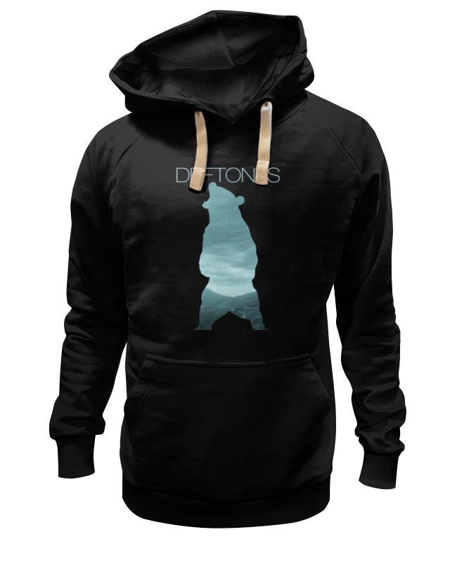 цены на Толстовка Wearcraft Premium унисекс Printio Deftones медведь в интернет-магазинах