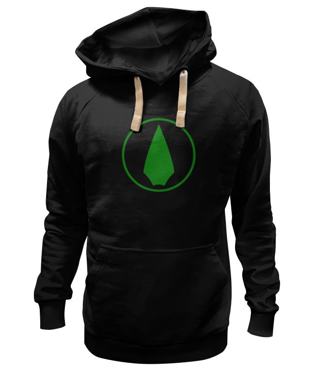 Толстовка Wearcraft Premium унисекс Printio Зеленая стрела