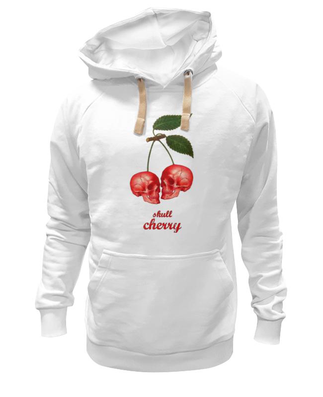 Толстовка Wearcraft Premium унисекс Printio skull cherry