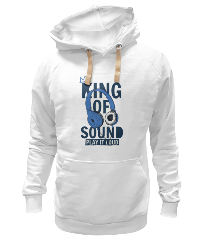 Толстовка Wearcraft Premium унисекс Printio King of sound толстовка wearcraft premium унисекс printio return of the king