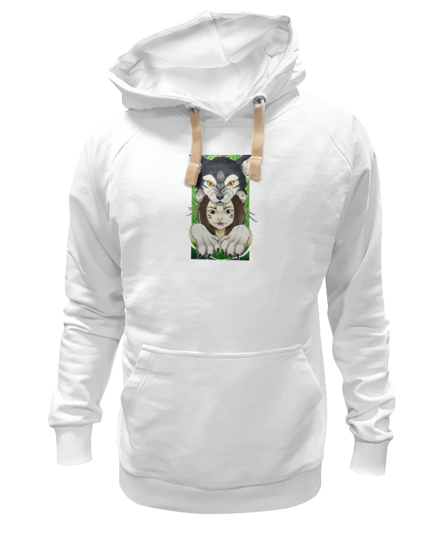 Толстовка Wearcraft Premium унисекс Printio Девушка и волк толстовка wearcraft premium унисекс printio сексуальная девушка в молоке