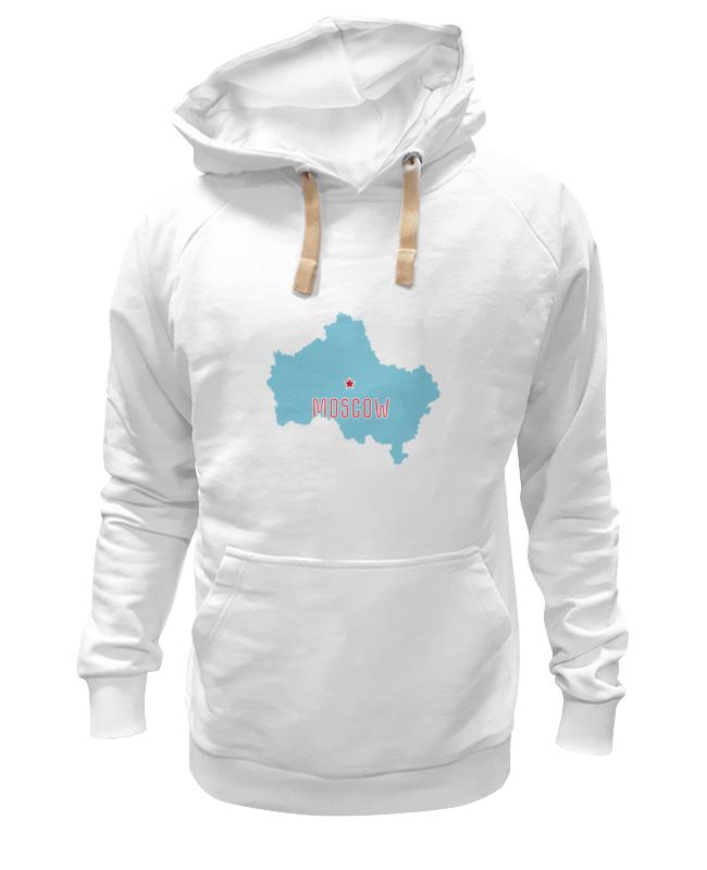 Толстовка Wearcraft Premium унисекс Printio Московская область. москва лонгслив printio московская область москва