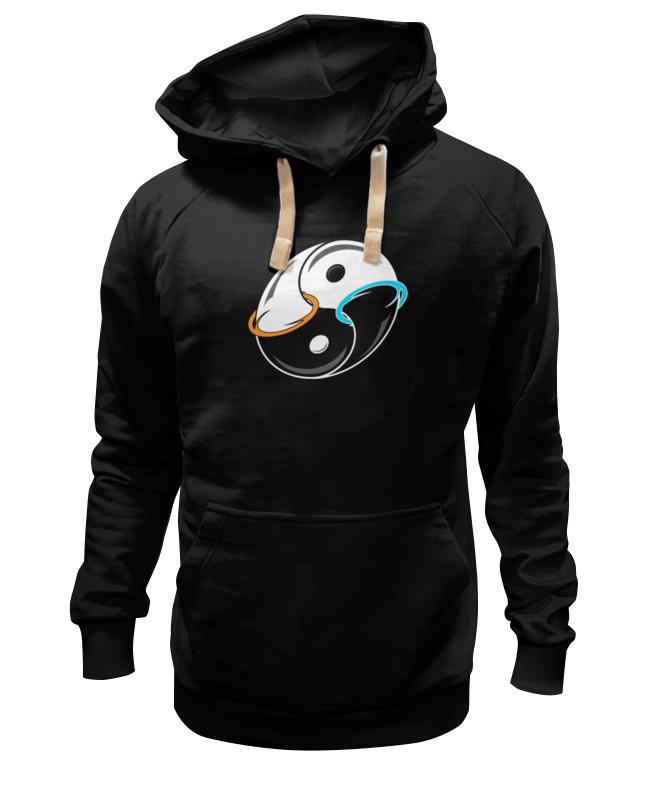 Толстовка Wearcraft Premium унисекс Printio Инь и ян (портал) ян братович чёрный помол мистическая детективная сказка