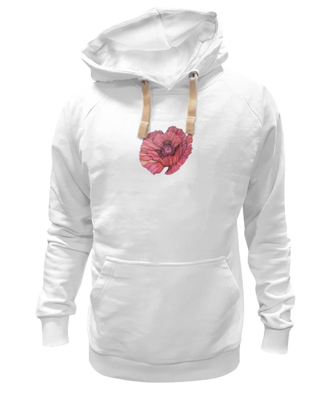 Толстовка Wearcraft Premium унисекс Printio Стилизованный винтажный арт-цветок винтажный декупаж ретромобиль