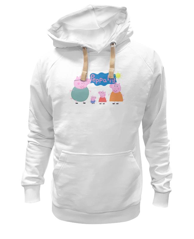 Толстовка Wearcraft Premium унисекс Printio Свинка пеппа сумки для детей свинка пеппа peppa pig рюкзачок малый superstar
