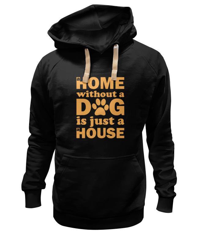 Толстовка Wearcraft Premium унисекс Printio Дом без собаки, не дом