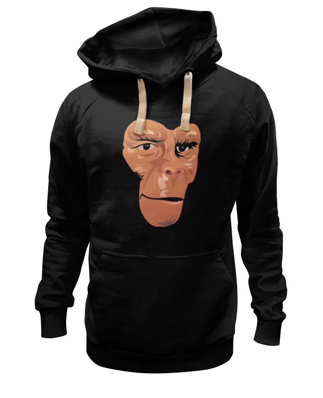 Толстовка Wearcraft Premium унисекс Printio Обезьяна (планета обезьян) детская футболка классическая унисекс printio обезьяна планета обезьян