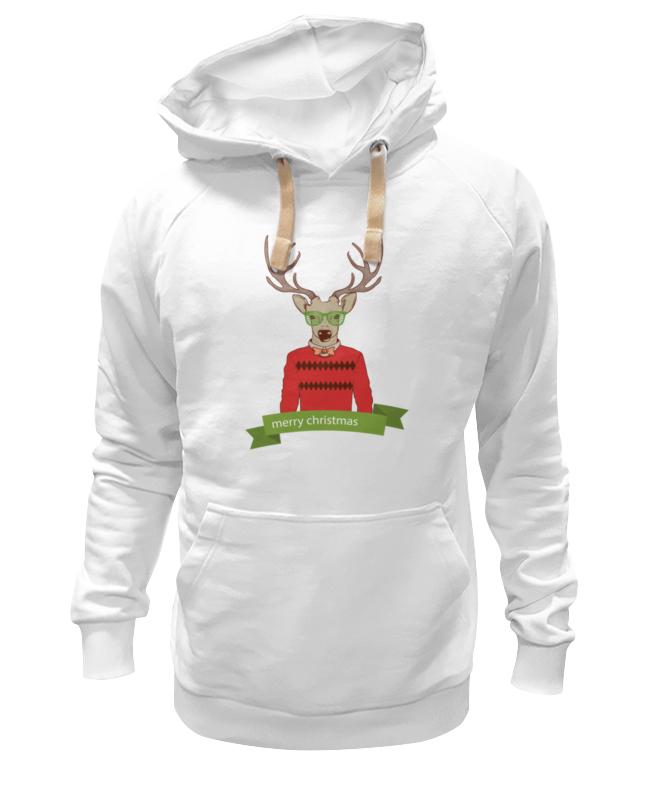 Толстовка Wearcraft Premium унисекс Printio Christmas deer christmas decor deer printed cushion throw pillow cover