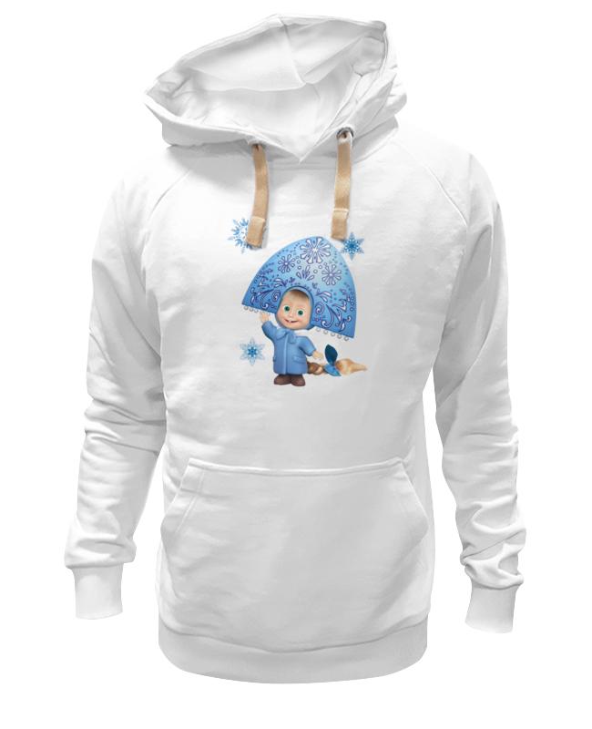 Толстовка Wearcraft Premium унисекс Printio Снегурочка девочка маша из мульта. смешная девочка снегурочка даль в и