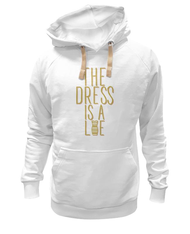 Толстовка Wearcraft Premium унисекс Printio Какого цвета платье? женское платье a line slim dresses girls ladies shealth dress для live show party dancing