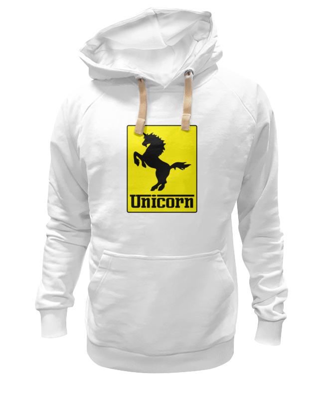Толстовка Wearcraft Premium унисекс Printio Unicorn x ferrari
