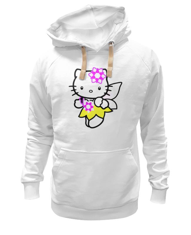 Толстовка Wearcraft Premium унисекс Printio Кот кошка. hello kitty.любимый герой мульт. цены онлайн