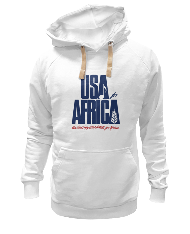 Толстовка Wearcraft Premium унисекс Printio Usa for africa лонгслив printio usa for africa