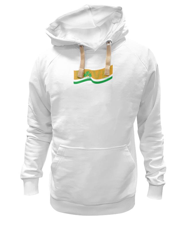 Толстовка Wearcraft Premium унисекс Printio Love с ирландским флагом
