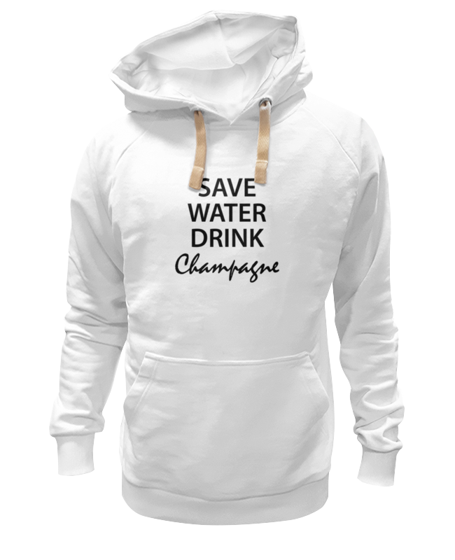 Толстовка Wearcraft Premium унисекс Printio Save water wine ver 2 save water
