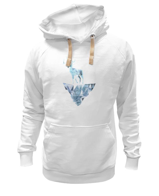 Толстовка Wearcraft Premium унисекс Printio Ледяной олень и и лажечников ледяной дом