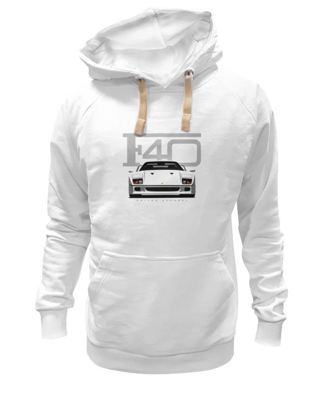 Толстовка Wearcraft Premium унисекс Printio Ferrari f40 футболка wearcraft premium printio ferrari f40