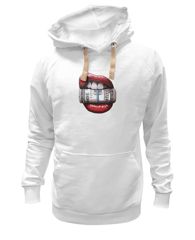 Толстовка Wearcraft Premium унисекс Printio Губы и деньги цена