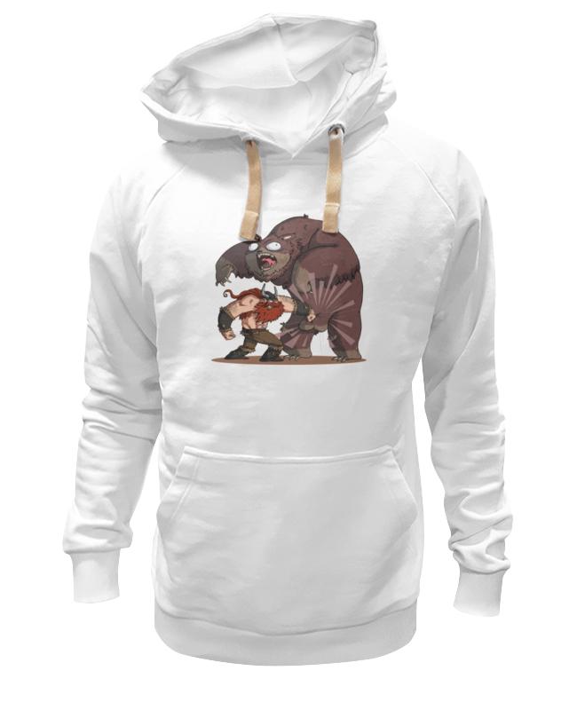 Толстовка Wearcraft Premium унисекс Printio Викинг и медведь футболка викинг