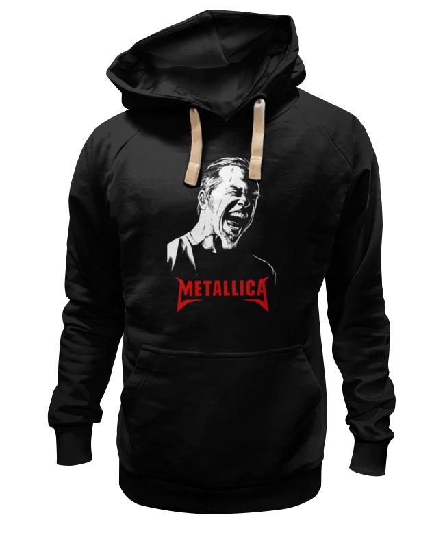 цена на Толстовка Wearcraft Premium унисекс Printio Metallica