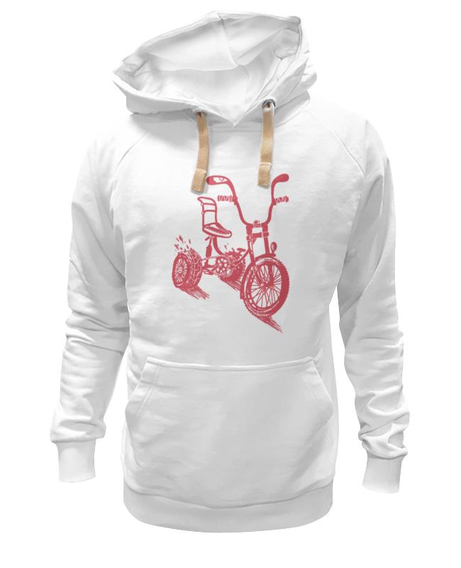 Толстовка Wearcraft Premium унисекс Printio Велосипед экономичность и энергоемкость городского транспорта