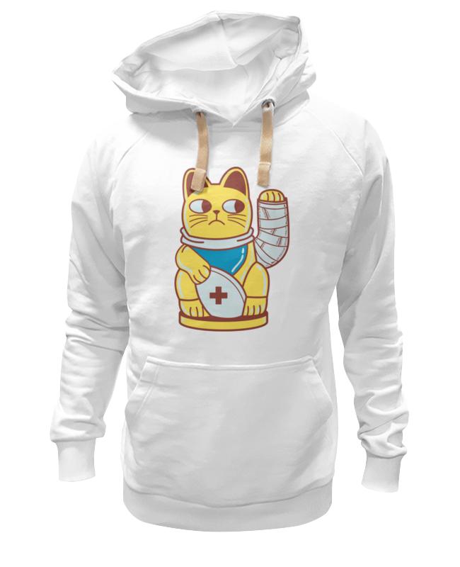 Толстовка Wearcraft Premium унисекс Printio Манэки-нэко (кот счастья) россия скульптура кот гармонист