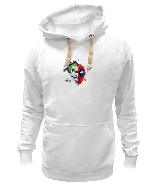 Толстовка Wearcraft Premium унисекс Printio Joker x deadpool сумка printio joker x deadpool