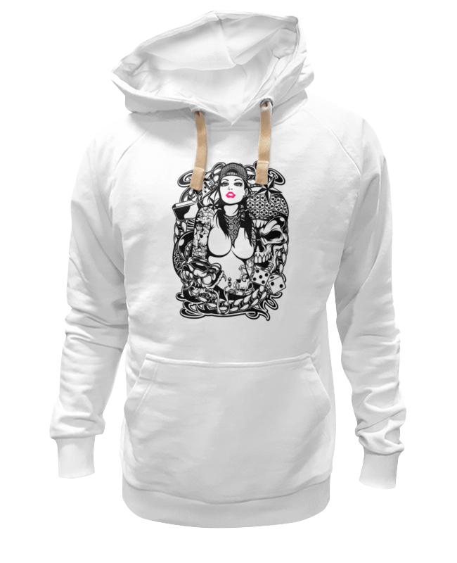 Толстовка Wearcraft Premium унисекс Printio Tatoo girl толстовка wearcraft premium унисекс printio gothic girl