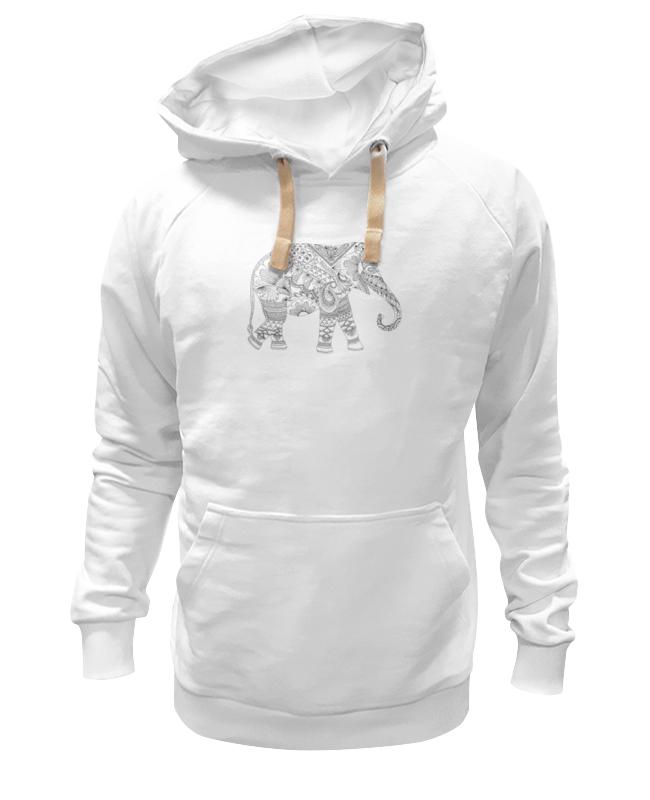 Толстовка Wearcraft Premium унисекс Printio Рисованный слон толстовка wearcraft premium унисекс printio индийский слон